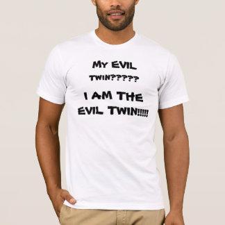 悪の双生児 Tシャツ