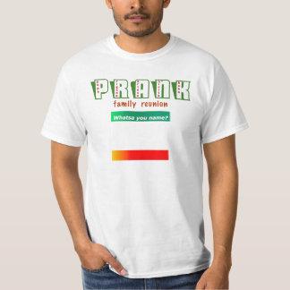 悪ふざけの懇親会のワイシャツ Tシャツ