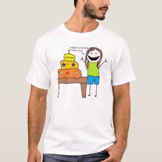 悪ふざけロットの最初誕生日のTシャツ Tシャツ