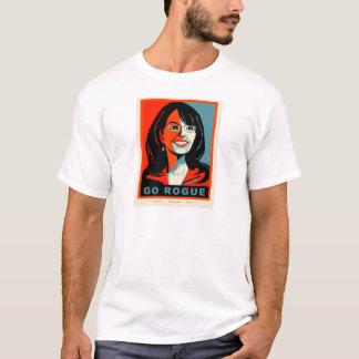 悪党は行きます Tシャツ