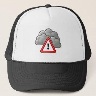 悪天候警報 キャップ