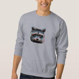 悪賢いアライグマ スウェットシャツ