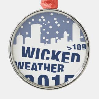 悪賢い天候(ボストン) 2015年 メタルオーナメント
