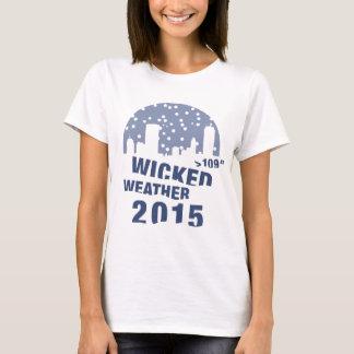悪賢い天候(ボストン) 2015年 Tシャツ