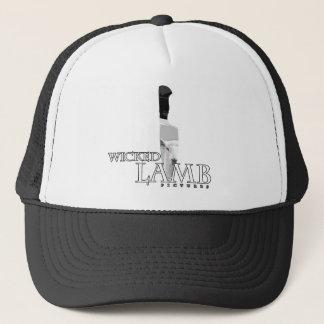 悪賢い子ヒツジのトラック運転手の帽子 キャップ