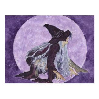 悪賢い月の魔法使い ポストカード