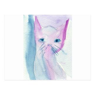 悪賢い猫 ポストカード
