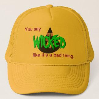 悪賢い球の帽子 キャップ