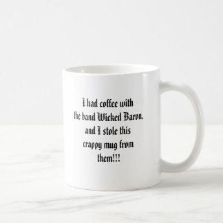 悪賢い男爵コーヒー・マグ コーヒーマグカップ