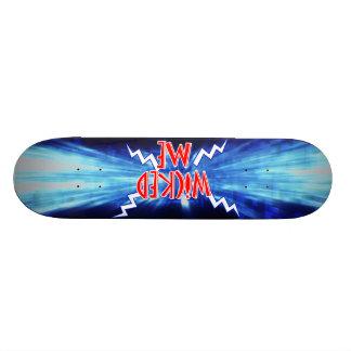 悪賢い私スケートボード 18.4CM ミニスケートボードデッキ