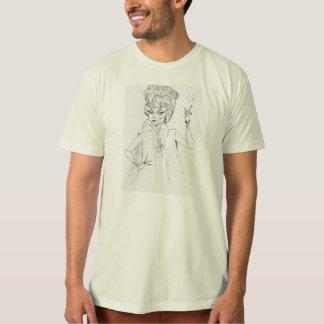 悪賢い義母のスケッチのワイシャツ Tシャツ