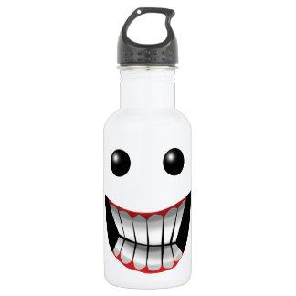 悪賢い顔 ウォーターボトル