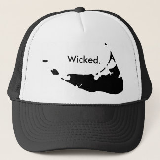 悪賢いNantucketのトラック運転手の帽子 キャップ