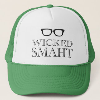 悪賢いSmarht (頭が切れるな)ボストンのスピーチのユーモア キャップ