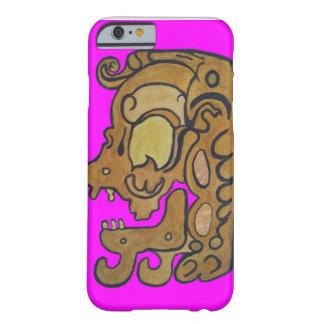 悪霊のネオンのピンクのマヤのグリフ BARELY THERE iPhone 6 ケース