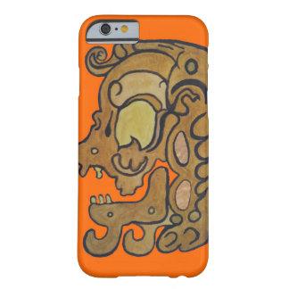 悪霊のネオンオレンジのマヤのグリフ BARELY THERE iPhone 6 ケース