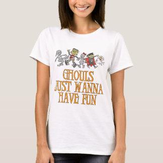 悪鬼はちょうどおもしろいのTシャツを持ちたいと思います Tシャツ