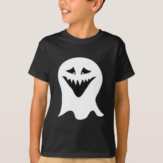 悪鬼。 白黒。 Tシャツ