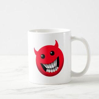 悪魔のよういスマイル コーヒーマグカップ