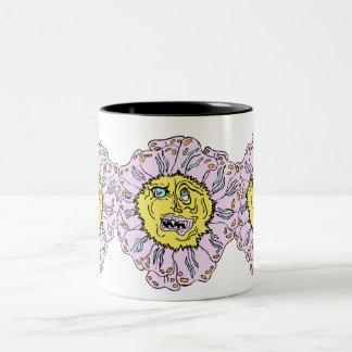 悪魔のよういデイジーのコップ ツートーンマグカップ