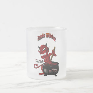 悪魔のウィスキーのマグ フロストグラスマグカップ