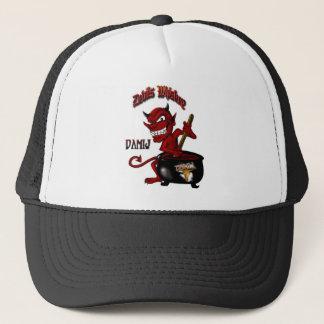 悪魔のウィスキーの帽子の黒 キャップ