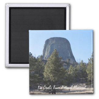 悪魔のタワーの国有記念物の写真をカスタマイズ マグネット
