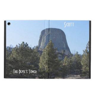 悪魔のタワーの国有記念物の写真をカスタマイズ iPad AIRケース