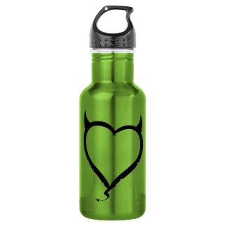悪魔のハート; 緑 ウォーターボトル