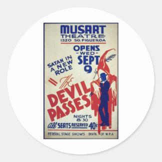 悪魔のパス- 1936年 ラウンドシール