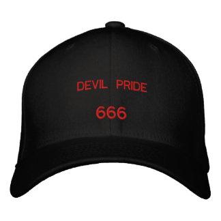 悪魔のプライド、666 刺繍入りキャップ