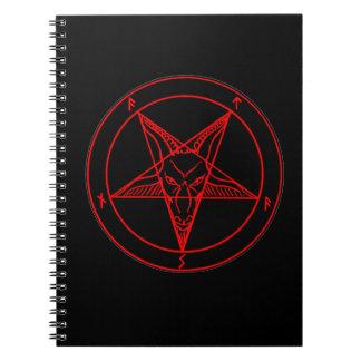 悪魔の印 ノートブック