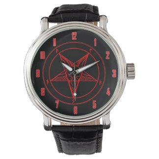 悪魔の印 腕時計