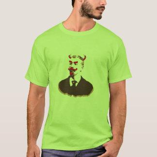 悪魔の口ひげ Tシャツ