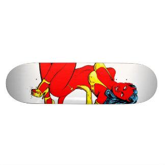 悪魔の女の子 20.6CM スケートボードデッキ