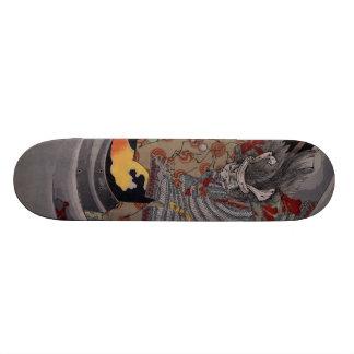 悪魔の武士 スケートボード