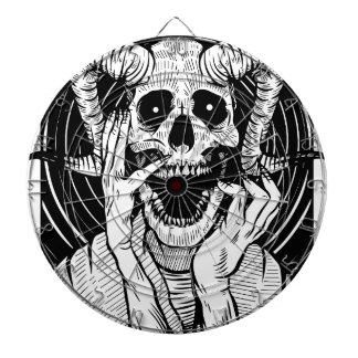 悪魔の顔 ダーツボード