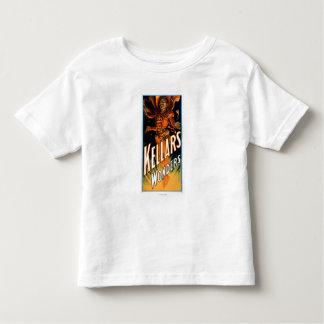 悪魔の魔法のように服を着るKellarの驚異 トドラーTシャツ