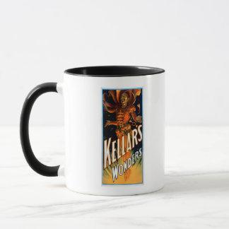 悪魔の魔法のように服を着るKellarの驚異 マグカップ