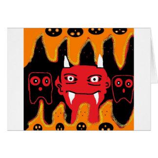 悪魔のchillin カード
