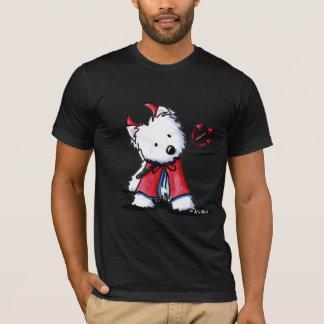 悪魔のWestieの小さい服装 Tシャツ