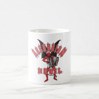 悪魔はアコーディオンを遊びます コーヒーマグカップ