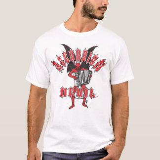 悪魔はアコーディオンを遊びます Tシャツ