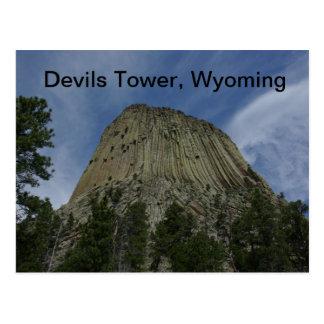 悪魔タワーの郵便はがき ポストカード