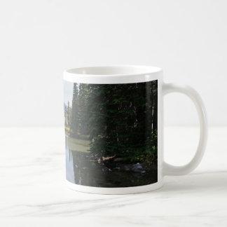 悪魔湖、オレゴン コーヒーマグカップ