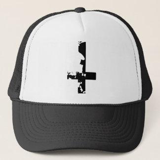 悪魔的な十字 キャップ