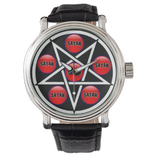 悪魔的な時計(Livedflug) 腕時計
