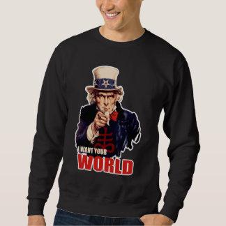 悪魔的な資本家の米国市民 スウェットシャツ