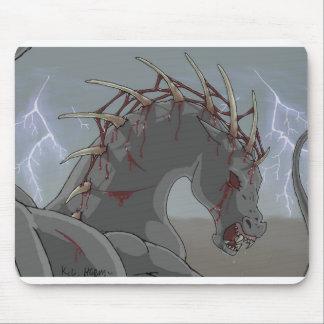 悪魔的な馬 マウスパッド