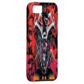 悪|血|骨組|iPhone|5|場合 iPhone 5 Case-Mate ケース